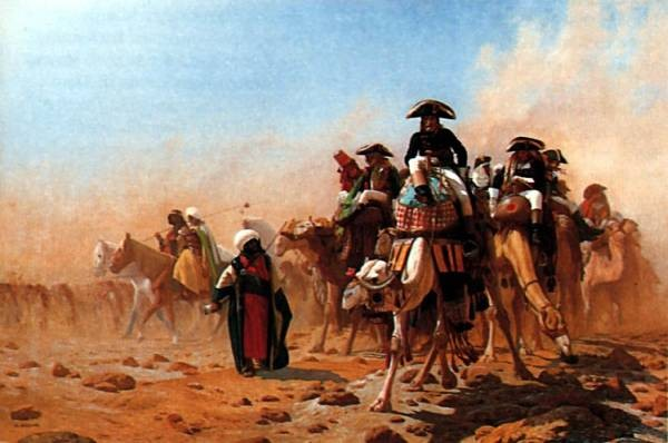 Napolean and his General Staff in Egypt